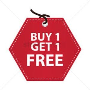 Dresses $50 and less. Buy one get one free!